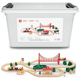 Конструктор Xiaomi MITU Track Building Block Electric Train Set